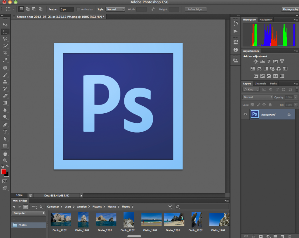 Photoshop Lessons Given By An Amateur Photographer To Other Amateur Photographers